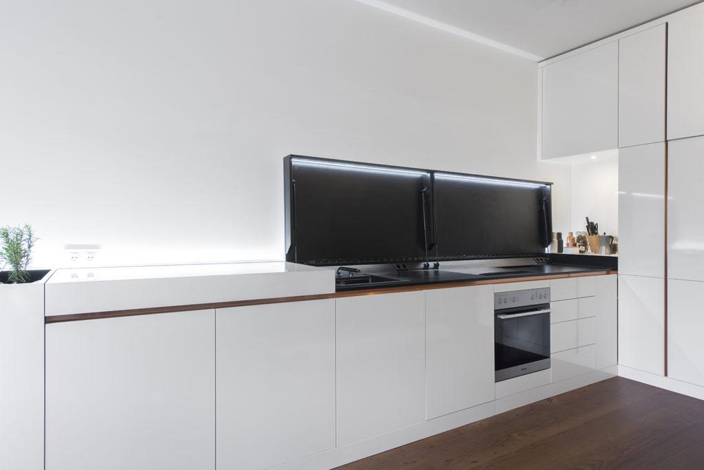 Küche für kleinere Wohnungen.